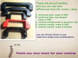 Molti generi di maniglia di tiro