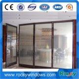 Porta de mola de piso sem molas pesada com vidro temperado