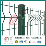 Kurbelgehäuse-Belüftung beschichtete 3D Maschendraht-Zaun geschweißte Garten-Zaun-Panels