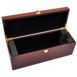 Коробка подарка упаковывать/представления вина отделки рояля Sapele деревянная