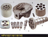 Pièces de rechange hydrauliques de pompe à piston de Hitachi Hpv091/102/116/118/145 et pièces de réparation