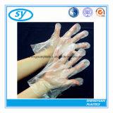 Оптовая торговля пластиковой ясно PE перчатки для производства продуктов питания