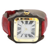 Moda Lady Watch com impermeável