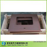 Vidrio curvado y Tempered de la fábrica de Shandong para el capo motor del rango de cocina