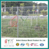 Rolltopの溶接された網の囲うか、またはRolltopの庭の境界景色の金網の塀