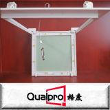 Puerta de acceso de aluminio del material de construcción con el yeso AP7710
