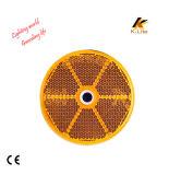 Réflecteur de moto d'éclairage LED, réflecteur Km112 de plot réflectorisé de sûreté
