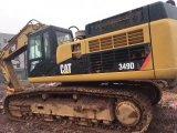 Original Excavadora Hidráulica de Orugas Caterpillar 349dl (maquinaria de minería japonesa)