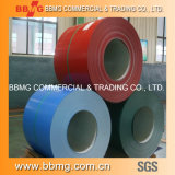 Heiß/walzte heißes eingetaucht galvanisiert vorgestrichenes/Farbe beschichtetes gewelltes Stahl-PPGI Dach-Metallblatt-Material ASTM kalt