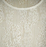 Mulheres Roupas de moda Têxteis de manga curta em volta do pescoço T-shirt branco