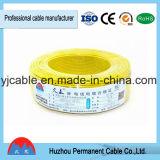 fil électrique isolé par PVC de 300/500V rv