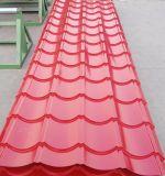 Lo spessore commerciale PPGI di assicurazione 0.33mm ha preverniciato lo strato d'acciaio galvanizzato del tetto