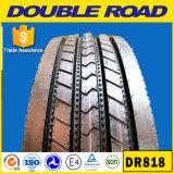 Doppelter LKW-Bus-Großhandelsgummireifen Straßen-nicht verwendeter Gummireifen-China-preiswerter 11r22.5 11r24.5 295/80r22.5 Stahlradial-