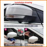 Grados granangular del mini del coche de opinión trasera color de la cámara 170