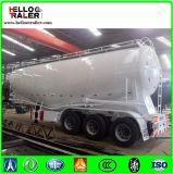 Acoplado del cemento con el tipo acoplado a granel de 3 árboles/40 toneladas V del carro del tanque del cemento para la venta
