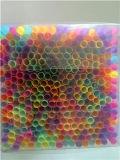 Kleurrijk Flexibel Plastic het Drinken Stro, het Stro van de Levering van de Partij