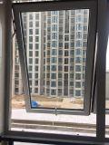 Finestra economizzatrice d'energia della tenda del PVC con vetro Tempered