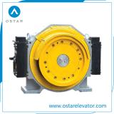 Macchina Gearless a magnete permanente della trazione dell'elevatore del passeggero di Vvvf del motore elettrico di Torin (OS113-GTW8)