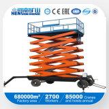 Tipo movible plataforma de elevación (SJY-H) de las tijeras