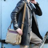 Bolsa do homem da lona de Bag& do ombro do mensageiro do portátil da forma