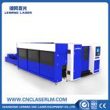 Machine de découpage de laser d'acier du carbone de pipe en métal avec la pleine couverture Lm3015hm3