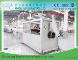 El plástico PVC/PE/PP/PPR& Conducto de agua eléctrico tubo/tubo/profile/hoja (de la extrusora, acarrear apagado, el corte de bobinado, belling) que hace la máquina de extrusión Extrusión/