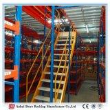 Tormento de acero del entresuelo y de la plataforma del Muti-Nivel del almacén resistente de China