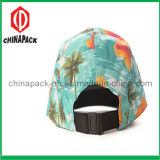 Colorful Floral 5 Panel Flat Brim Caps (CPA-14-1195)