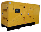 Ce/Soncap/CIQの承認のWeifangエンジンR6105zdを搭載する100kVA無声ディーゼル発電機