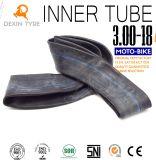 Appareil-photo butylique 3.00-8 de vélo de moteur de chambre à air de tube de moto de tube d'Origina