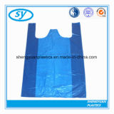 Напечатано снесите хозяйственную сумку PE пластичную с ручкой