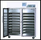 Geladeira comercial de alimentos congelados a porta de vidro eléctrico