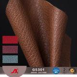Cuoio sintetico artificiale del PVC di alta qualità per il materiale della borsa delle signore