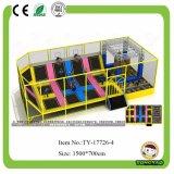 A alta qualidade projeta o grande parque interno do Trampoline com basquetebol (TY-160612)