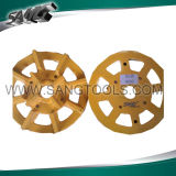 Металл / пластик пластина для шлифования гранита и мрамора (SGG-PU)