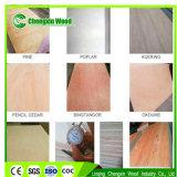Madera contrachapada plástica veces de la madera contrachapada reutilizable de Okoume de más de 60 para el aluminio
