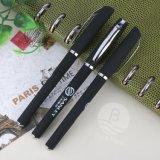 Venda por grosso de gel promocional caneta de cor preta Gel Canetas de tinta