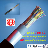 50 pares de cobre sólido al aire libre de múltiples pares Teleohone Cable