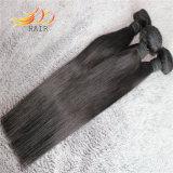 まっすぐな8A高品質のビルマのバージンの人間の毛髪の織り方