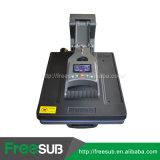 기계를 인쇄하는 Latestest 큰 체재 열 압박 유압 t-셔츠