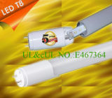 UL DLC 1200mm 4ft 80RA 18W à LED TUBE T8