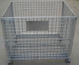 Contenitore pieghevole galvanizzato memoria approvato Ce della rete metallica del magazzino