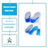 De aangepaste Injectie van het Silicone van de Binnenzolen van de Schoen van het Silicone Lift Verhoogde