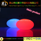 Rechargeable Waterproof Wireless Plastic LED Pebble Light