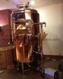Pub / Commercial micro brasserie 100L de l'équipement intégré avec 1 navire enveloppé avec cuivre rouge