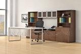 Direktionsbüro-Möbel, moderner weißer Tischplattenstahlfuss-Büro-Schreibtisch (SZ-OD364)