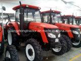 호주 etc. Le1204에 있는 120HP 4wheels Farm Tractor Sh Brand Shuhe Brand Tractor Hot Sale
