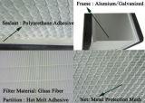 Filtre de H13 testé par 100% H14 Minipleat HEPA