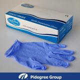 Порошок перчатки экзамена нитрила голубой освобождает, нежность (NGBL-PFS3.5)