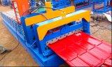 L'acier à haut rendement de couleur a glacé le roulis de panneau de toit de tuile formant la machine